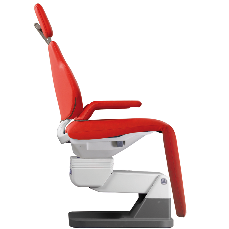 Knee break dental chair