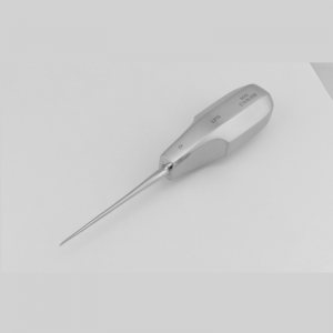 1mm Straight stainless steel Luxation instrument.