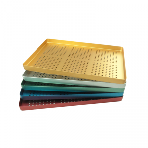 Instrument Trays Large Perforated