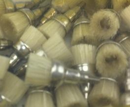Bristle Prophy Brush Screw Type