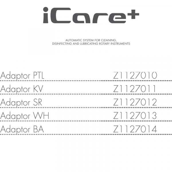 NSK iCare+ Handpiece Adaptors